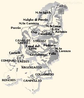 Comune di Faedis | itinerari turistici