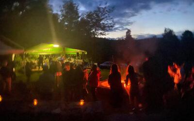 bella bella, bella festa e grazie OSPITANDO OSPITI